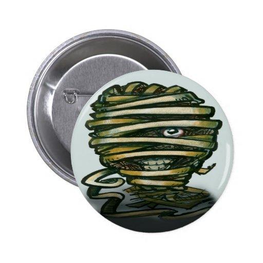 Mummy Pinback Button