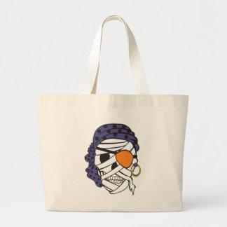 Mummy Pirate Skull Bag