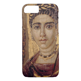 Mummy Portrait of a Woman, from Fayum, Romano-Egyp iPhone 7 Case