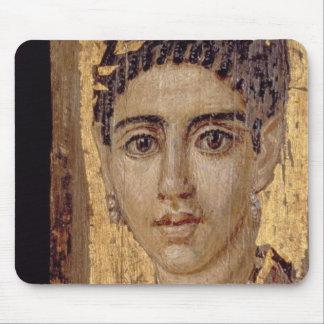 Mummy Portrait of a Woman, from Fayum, Romano-Egyp Mousepad