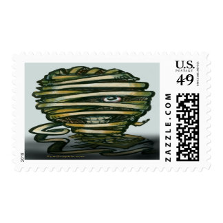 Mummy Postage Stamps
