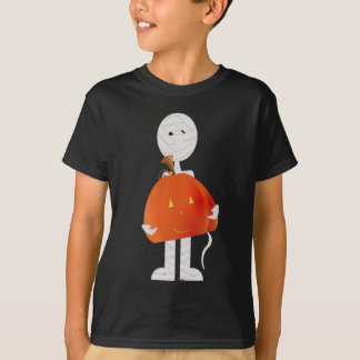 Mummy Pumpkin Halloween Shirt for kids!