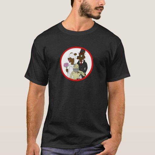 Mummy Quit, Werewolf Got Married T-Shirt
