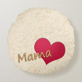 Mummy Round Pillow