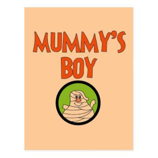 Mummy s Boy Halloween Tshirts and Gifts Postcard