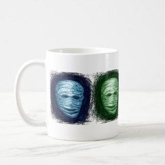 Mummy Scratch Color Mug