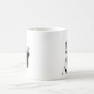 Mummy Screaming Classic White Coffee Mug