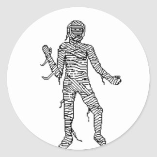 mummy stickers
