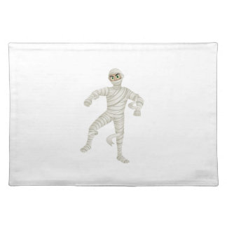 Mummy with Green Eyes Place Mats