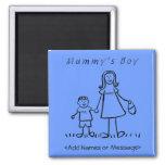 Mummy's Boy - Mother & Son Custom Family Magnet