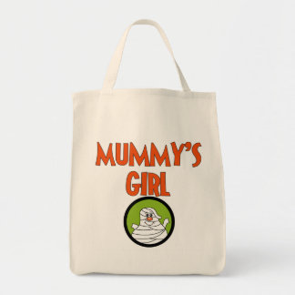 Mummy's Girl T-shirts and Gifts Grocery Tote Bag