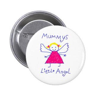 Mummy's Little Angel Button