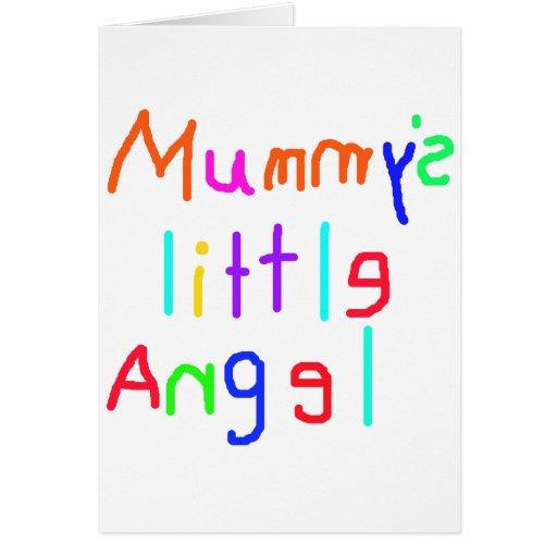 Mummy's Little Angel Greeting Card