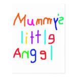 Mummy's Little Angel Postcard