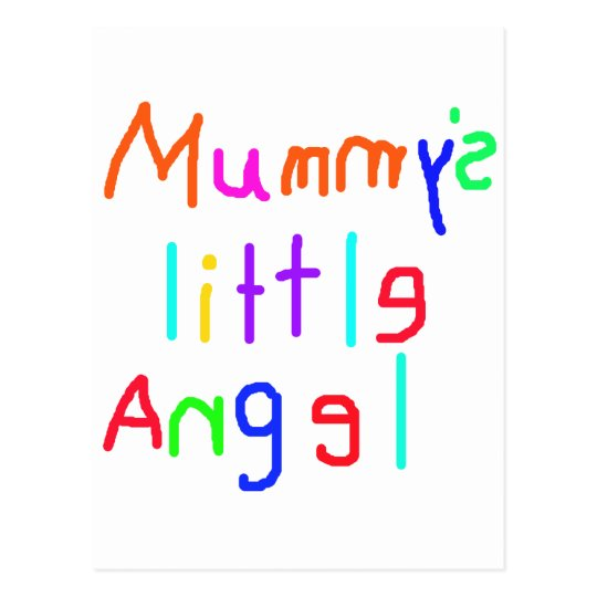 Mummy's Little Angel Postcard