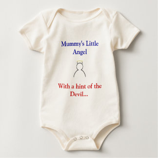 Mummy's Little Angel with the Devil Baby Bodysuit