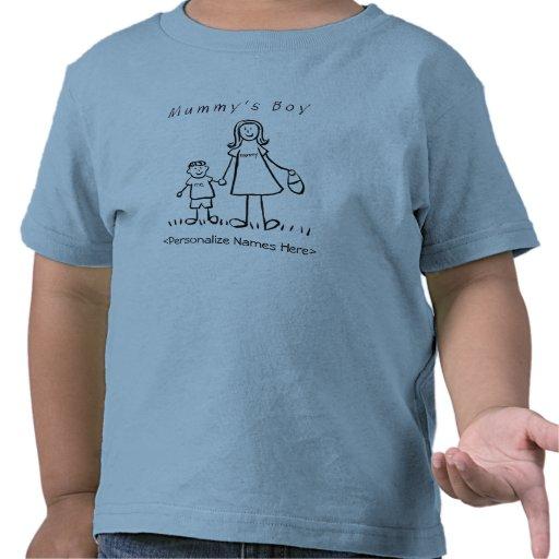 Mummy's Little Boy - Mother & Son Shirts