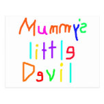 Mummy's Little Devil Post Card