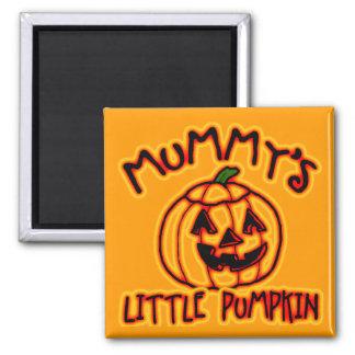 Mummy's Little Pumpkin Magnet