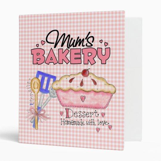 Mum's Baker Recipe Binder