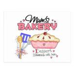 Mums Bakery Gift Postcard