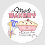 Mums Bakery Gift Stickers