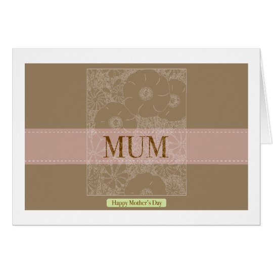 Mums_brown_celline by Rockeelicious Card