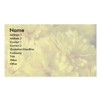 Mums Double-Sided Standard Business Cards (Pack Of 100)