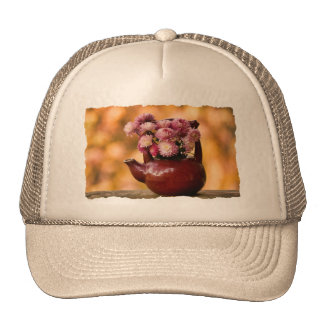 Mums in a Teapot Photo Mesh Hat