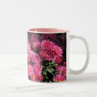 Mums in the Garden Two-Tone Coffee Mug