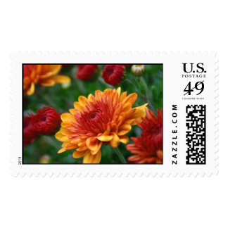 Mums on Fire Postage Stamp