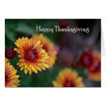 Mums Thanksgiving Greeting Cards