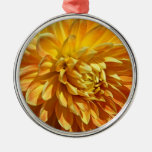 Mums the Word Lush Golden Blossom Christmas Ornament
