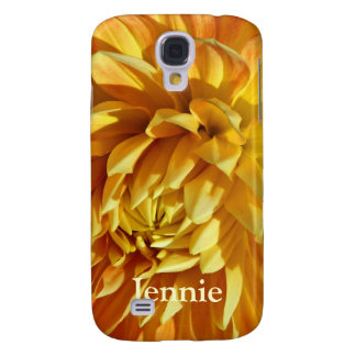 Mums the Word Lush Golden Blossom Samsung Galaxy S4 Cover