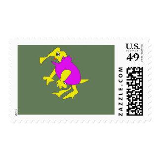 MUMU character form cartoon Postage Stamp