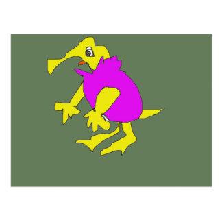 MUMU character form cartoon Postcard
