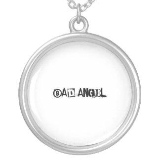 Mún ángel - collar de la plata esterlina