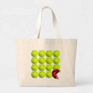 Mún Apple Bolsa Tela Grande