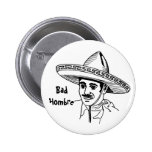Mún botón de Hombre Pin Redondo De 2 Pulgadas