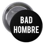 Mún botón de Hombre Pin Redondo De 3 Pulgadas
