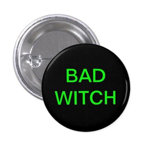Mún botón de la bruja pins