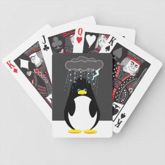 Mún botón del pingüino del día barajas