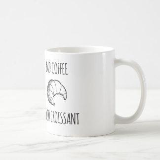 Mún café/buena taza del Croissant