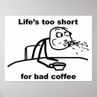 Mún café póster