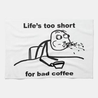 Mún café toalla de mano