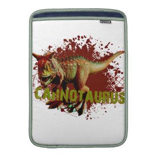 Mún Carnotaurus que salpica verde y rojo de la Funda Macbook Air