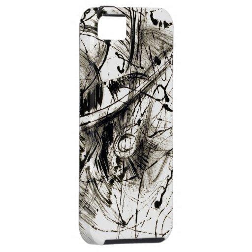 Mún caso del iPhone del día del pelo iPhone 5 Cárcasa
