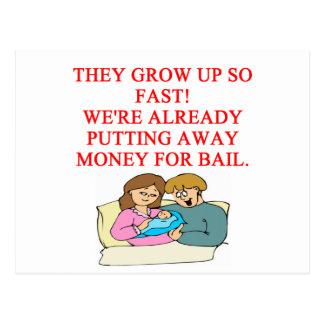 mún chiste del bebé tarjetas postales