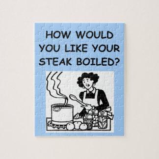 mún cocinero puzzles con fotos