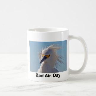 Mún día del aire taza de café